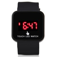 jeansian Outdoor Sport Touch Screen Silicone LED Digital Watch ZWC009