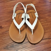 That's My Baby Flats - White