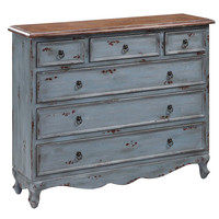 Crestview Shoreview 4-Drawer Cabinet - CVFYR892