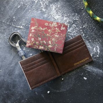 Almond Blossoms Red Vincent van Gogh Art Painting Tyvek Wallet