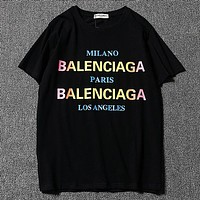 Balenciaga  Women or Men Fashion Casual  Short Sleeve Shirt Top Tee Blouse