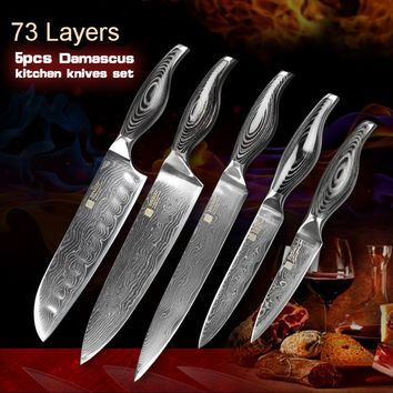 shop damascus steel knife on wanelo highest quality chef s ceramic kitchen knife set cutlery
