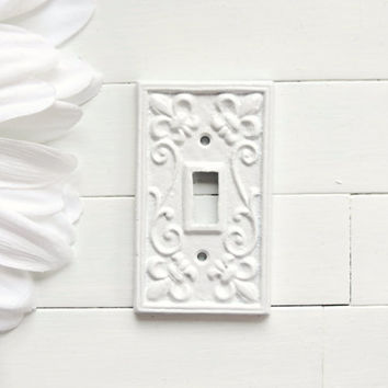 White Wall Switch Plates Impressive Best Shabby Chic Light Switch Plate Products On Wanelo Inspiration