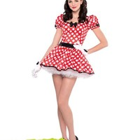 Sassy Minnie Mouse Costume for Women- Party City