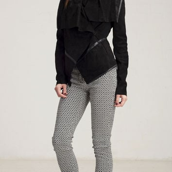 Blank NYC Wild Thang Suede Jacket