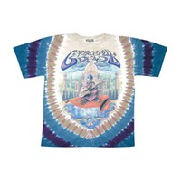 Grateful Dead Men's  Carpet Ride Tie Dye T-shirt Multi
