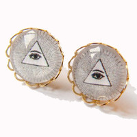 Now or Never Illuminati Stud Earrings