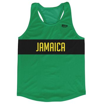 Jamaica Country Finish Line Running Tank Top Racerback Track and Cross Country Singlet Jersey