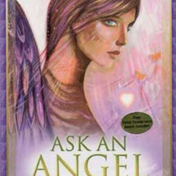 Ask an Angel oracle cards by Salerno & Mellado