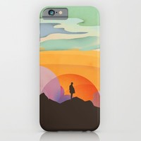 I Like to Watch the Sun Come Up iPhone & iPod Case by Amelia Senville