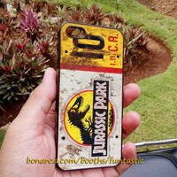Jurassic Park Jeep License Plate Phone Cases, iPhone Case, Samsung Galaxy Case