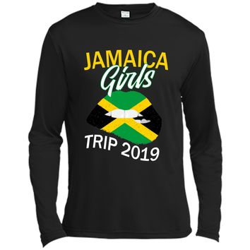 Jamaica Girls Trip 2019 T Shirt For Women Kids Long Sleeve Moisture Absorbing Shirt