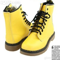 iOffer: Dr.Martens punk Martin boots women boots 8 holes  for sale