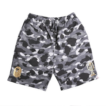 Camouflage Men Casual Pants Shorts [10567305351]