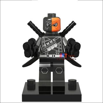 50pcs starwars superhero building blocks Deadpool Deathstroke bricks friends for boy kid children toys brinquedos menina