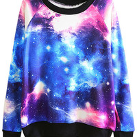ROMWE | Tie-dye Galaxy Sweatshirt, The Latest Street Fashion