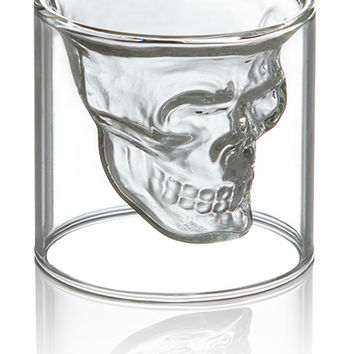 Doomed Crystal Skull Shotglass