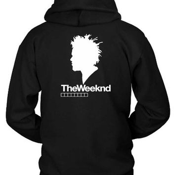 DCCKG72 The Weeknd Siluet One Hoodie Two Sided