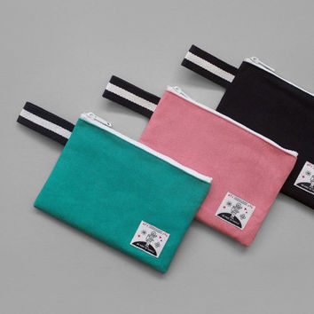 Hey you zipper pouch with strap