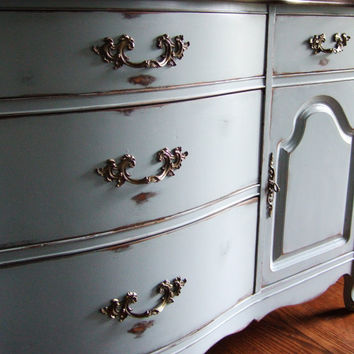 Distressed French Country Buffet in an Elegant French by Artisan8