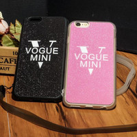 "Fashion ""V"" mobile phone case for iphone 5 5s SE 6 6s 6 plus 6s plus + Nice gift box 71501"
