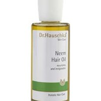 Neem Hair Oil, 3.4 fl oz Dr. Hauschka Skin Care: Natural Skin Care Products with Organic Ingredients: Natural Face Care, Body Care and Make-up