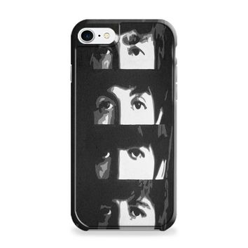 Beatles (eyes) Black iPhone 7 | iPhone 7 Plus Case