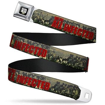 The Walking Dead We Are All Infected Horde Belt