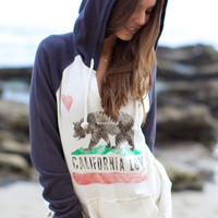 The Girl and The Water - Billabong - Days Off Hoodie / Oatmeal - $49.50