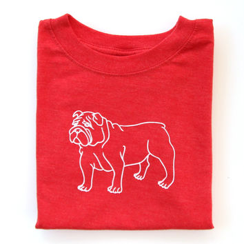 Bulldog Infant Short Sleeve Tee