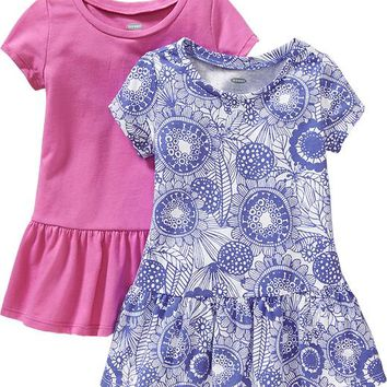 Old Navy Drop Waist Dress 2 Packs For Baby