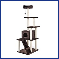 Domestic Delivery Cat Tree Wood Luxury Cat Toys Cat Bed Furniture&Scratchers Cat Scratching Tree Kitten House Condo Tree Tower