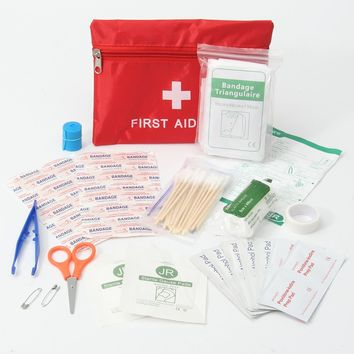 Emergency First Aid Kit. Excellent for camping and travel