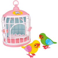 Little Live Pets Love Birds With Cage | Toys R Us