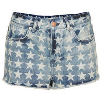 MOTO Star Denim Hotpants - Hotpants - Shorts  - Clothing