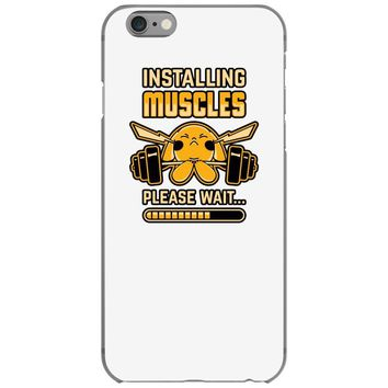 pikachu muscles iPhone 6/6s Case