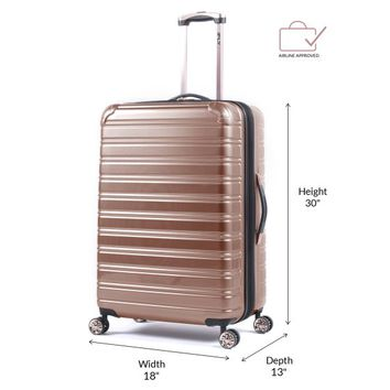 "iFLY Hard Sided Fibertech Luggage, 28"" - Walmart.com"