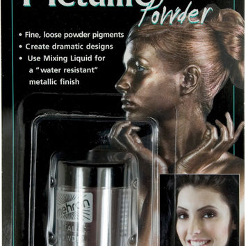 costume makeup: metallic powder | bronze Case of 2