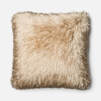Loloi Gold Decorative Throw Pillow (P0245)