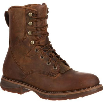 Workin' Rebel by Durango Steel Toe Waterproof Western Lacer Boot