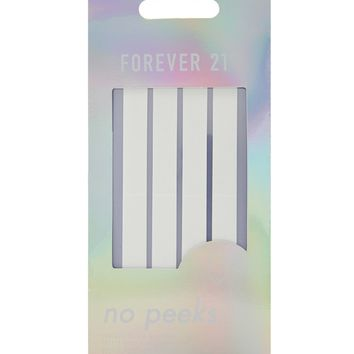 No Peeks Adhesive Strip Set