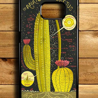 Anatomy Of A Cactus Samsung Galaxy S6 Edge Case