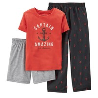 Carter's 3-Piece Captain Amazing Pajama Set - Boys