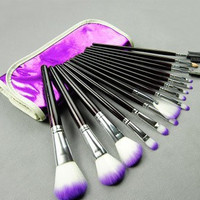 16-pcs Fashion Make-up Brush Set = 4831003076