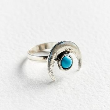 Half-Moon Statement Ring | Urban Outfitters