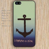 iPhone 5s 6 case refuse to sink colorful phone case iphone case,ipod case,samsung galaxy case available plastic rubber case waterproof B339