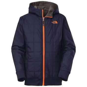 The North Face Boys' Reversible Quilted Surgent Hoodie