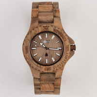 Wewood Date Watch Teak One Size For Men 21520142301