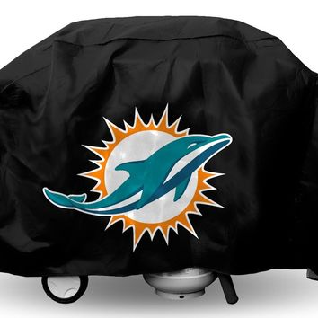 Miami Dolphins Grill Cover Economy