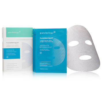 patchology FlashMasque™ Facial Sheets - Hydrate - Dermstore